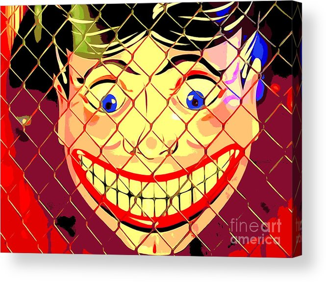 Digital Acrylic Print featuring the photograph The Coney Smile by Ed Weidman