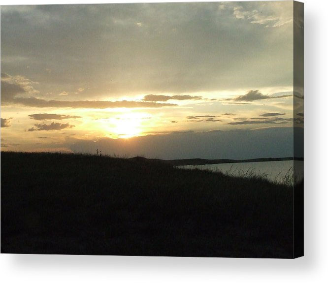 Acrylic Print featuring the photograph The Days End by Dennis Wilkins