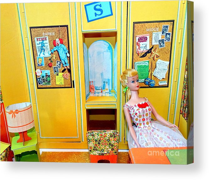 Mannequins Acrylic Print featuring the photograph The Dorm Room by Ed Weidman