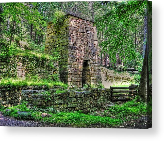 Hiking Acrylic Print featuring the photograph The Furnace by Andrew Webb