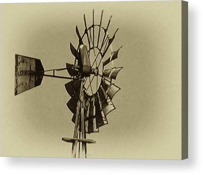 Wind Acrylic Print featuring the photograph The Windmills Of My Mind by Bill Cannon