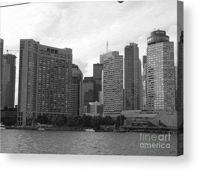 Toronto Acrylic Print featuring the photograph Toronto by Deborah Selib-Haig DMacq