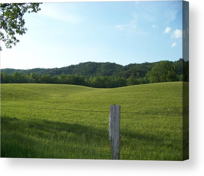 Landscape Acrylic Print featuring the photograph Untouched by Jessica Burgett