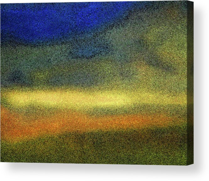 Abstract Acrylic Print featuring the photograph Virginia Dale-impressionistic Landscape by Lenore Senior