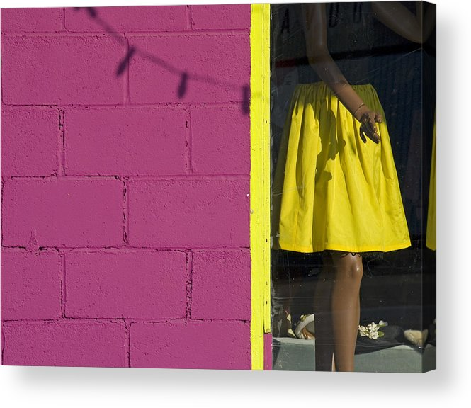 Woman Acrylic Print featuring the photograph Waiting by Skip Hunt