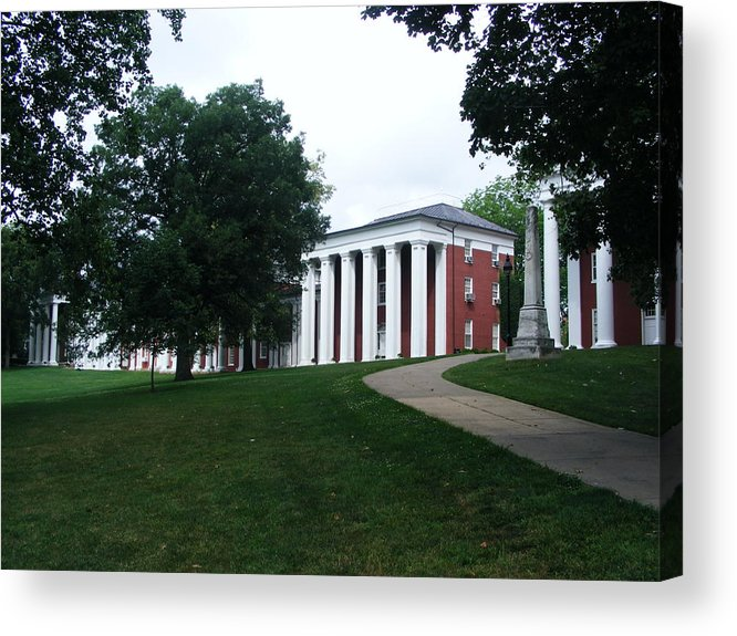 Generals Acrylic Print featuring the photograph Washington And Lee University by Eddie Armstrong