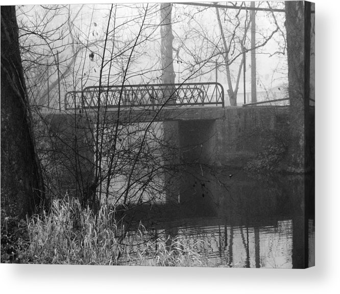 Bridge Acrylic Print featuring the photograph Webster Bridge by Michael L Kimble