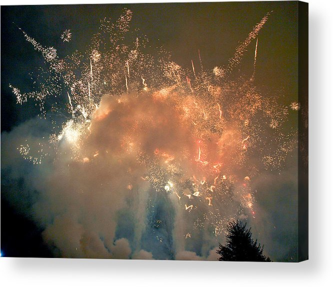 4th Acrylic Print featuring the photograph When The Smoke Clears by Jim DeLillo