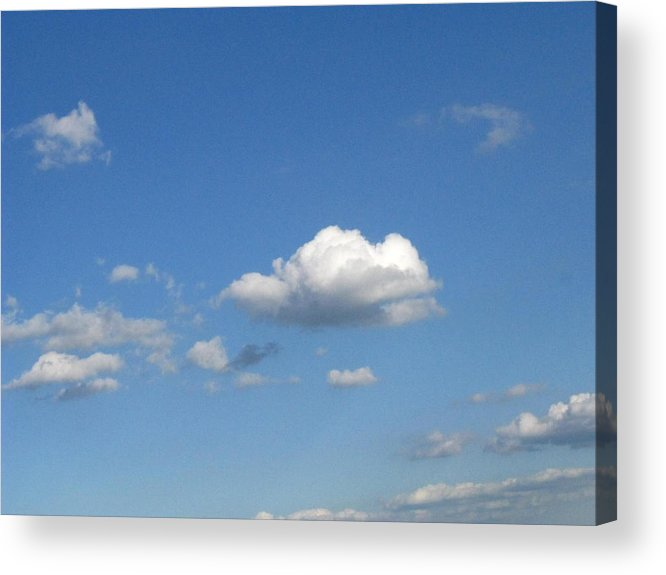 Clouds Acrylic Print featuring the photograph Wide Open by Rhonda Barrett