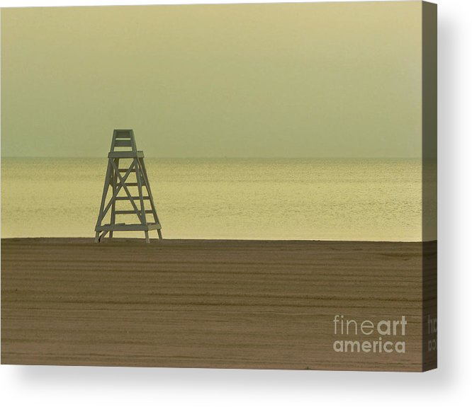 Beach Acrylic Print featuring the photograph Will You Lay Here With Me And Just Forget The World by Dana DiPasquale