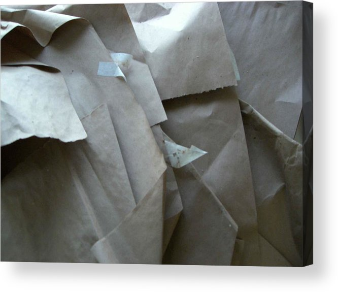 Artwork Wrappings Acrylic Print featuring the photograph Wrappings by Nancy Ferrier