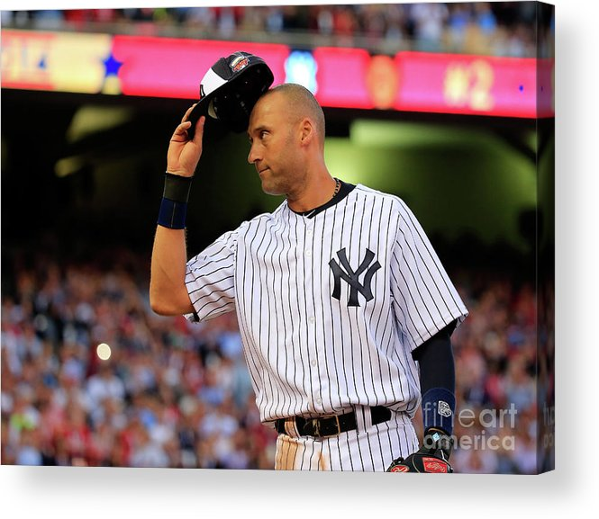 Crowd Acrylic Print featuring the photograph 85th Mlb All Star Game 12 by Rob Carr