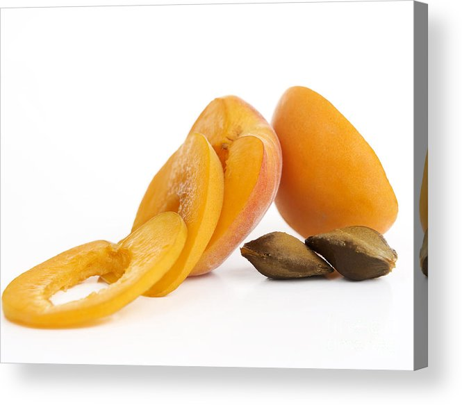 Food And Drink Acrylic Print featuring the photograph Apricots by Bernard Jaubert