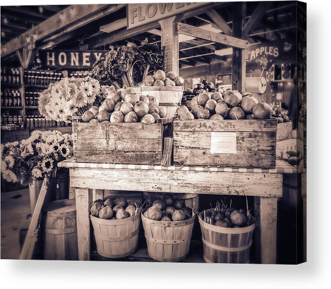 Farm Stand Acrylic Print featuring the photograph Avila by Caitlyn Grasso