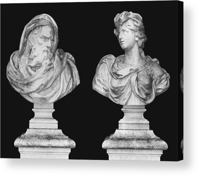 Zeus Acrylic Print featuring the photograph Classics by Kristin Elmquist
