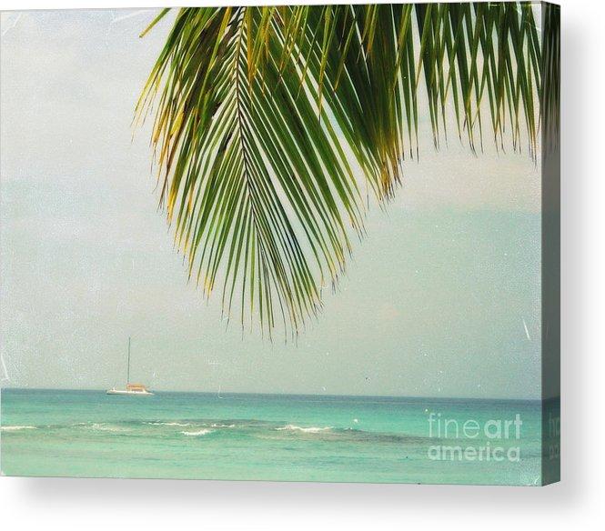Ocean Acrylic Print featuring the photograph On Your Horizon by Irina Davis