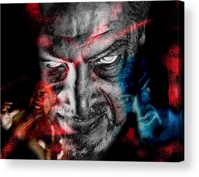 Wrath Acrylic Print featuring the photograph Wrath by Camille Lopez