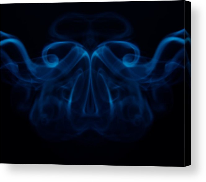 Smoke Photography Acrylic Print featuring the photograph 11 by James Cummings