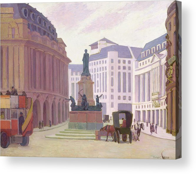 Aldwych Acrylic Print featuring the painting Aldwych by Robert Polhill Bevan