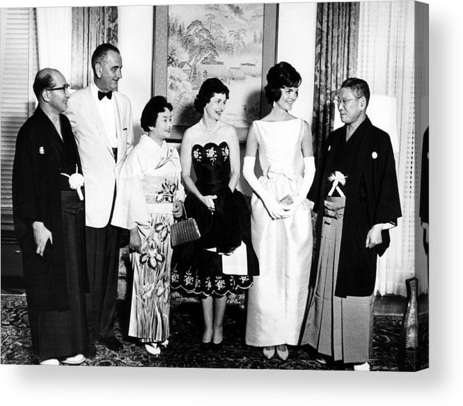 1960s Acrylic Print featuring the photograph Japanese Foreign Minister Zentaro by Everett