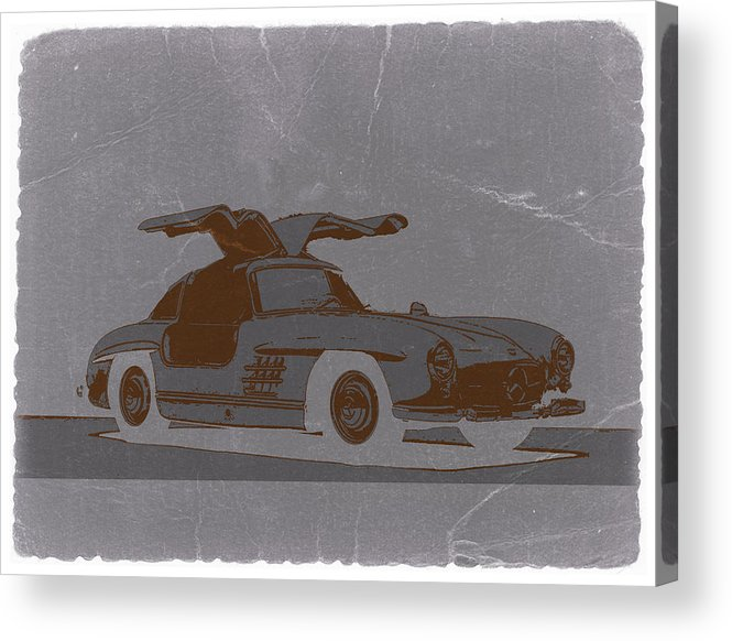 Acrylic Print featuring the photograph Mercedes Benz 300 by Naxart Studio