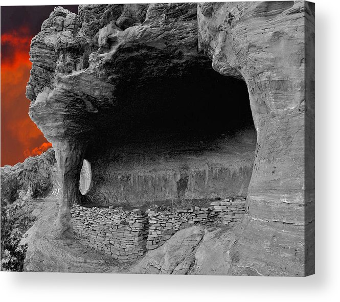 Anasazi Acrylic Print featuring the photograph Robber's Roost by Wayne Johnson
