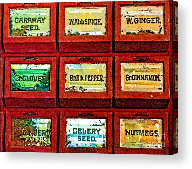Spice Acrylic Print featuring the photograph The Spice Of Life by Colleen Kammerer