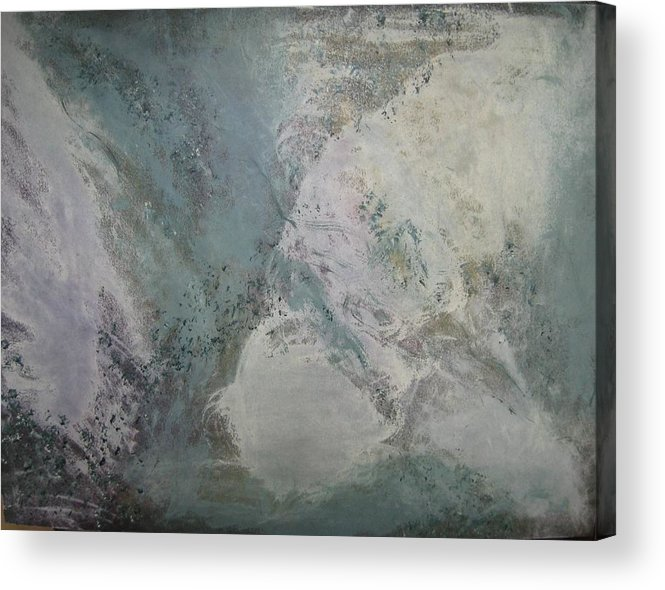 Abstract Acrylic Print featuring the painting Whirlwind by Sheryl Sutherland