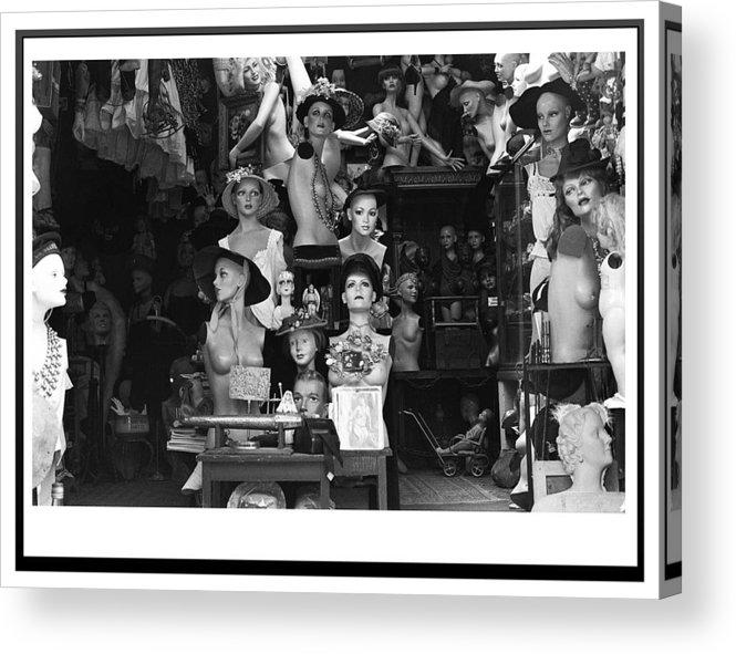 Dols Acrylic Print featuring the photograph Dolls by Ragnheidur Olafsdottir