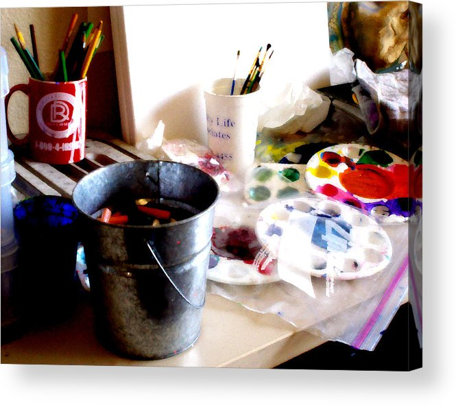 7 Elements Of Design Deno Acrylic Print featuring the photograph 7 Elements Of Design Demo by Curtis J Neeley Jr