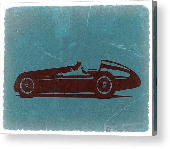 Acrylic Print featuring the photograph Alfa Romeo Tipo 159 Gp by Naxart Studio