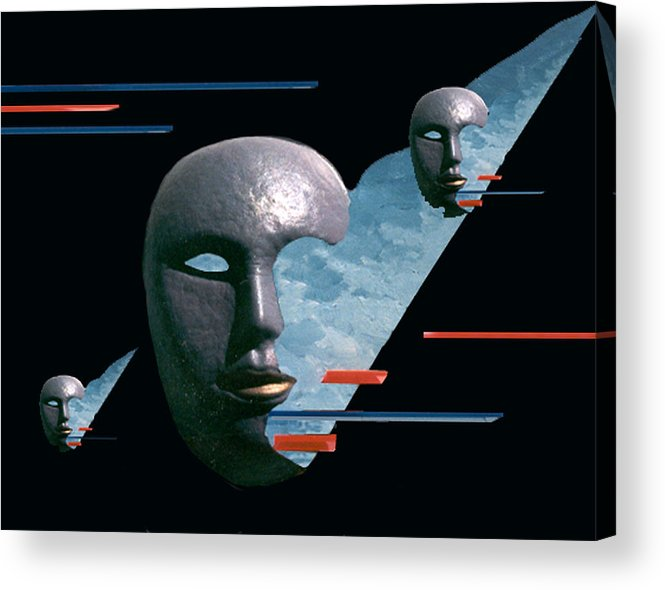 Surreal Acrylic Print featuring the digital art An Androids Dream by Steve Karol