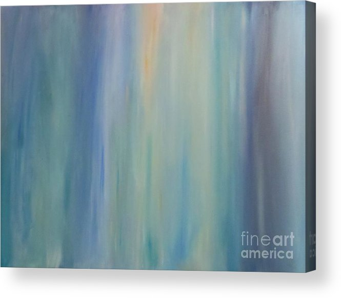 Abstract Acrylic Print featuring the painting Bliss - Colorado Series by Tracy Evans
