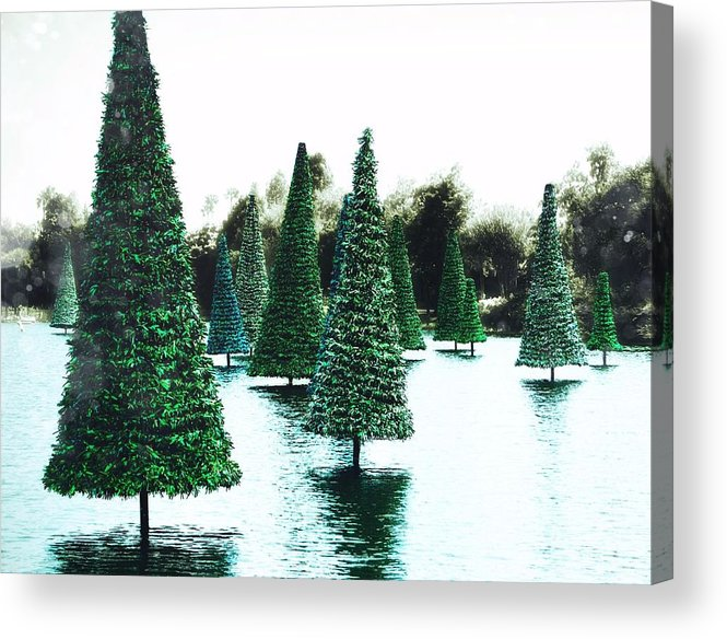 Holiday Acrylic Print featuring the photograph Christmas Sea by JAMART Photography
