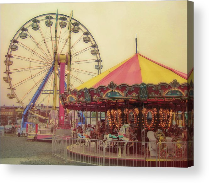 Carnival Acrylic Print featuring the photograph County Fair by JAMART Photography