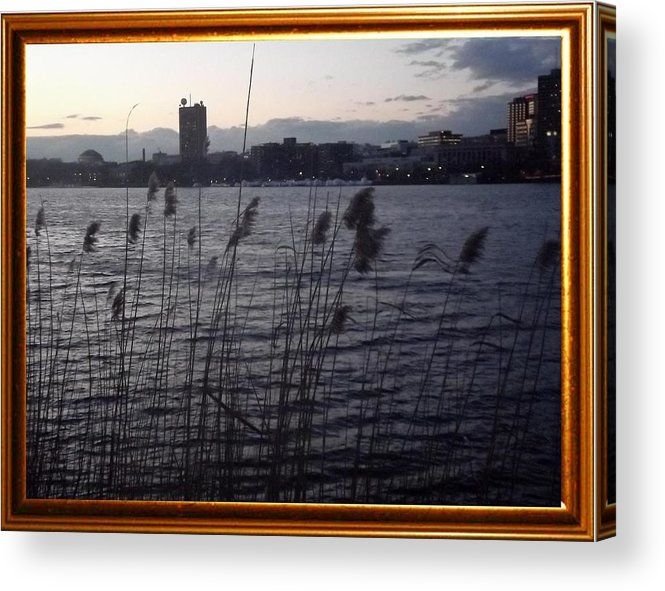 Frame Acrylic Print featuring the photograph Frame Building by Urgue