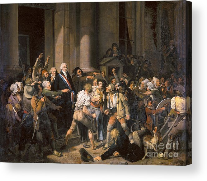 1793 Acrylic Print featuring the photograph France: Bread Riot, 1793 by Granger