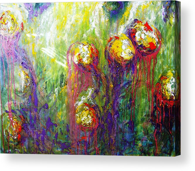 Growth Acrylic Print featuring the painting Growth by Amanda Schambon
