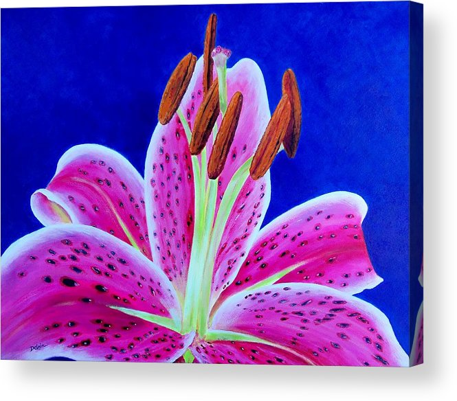 Sue Delain Acrylic Print featuring the painting Hope by Susan DeLain