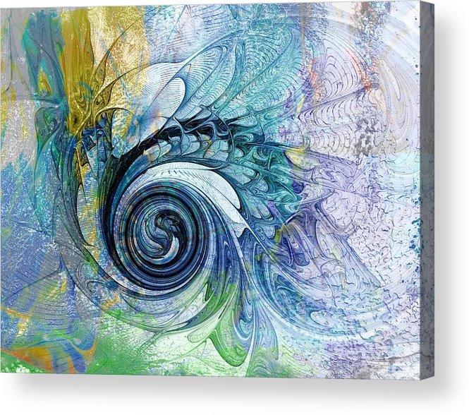 Digital Art Acrylic Print featuring the digital art Leaving It All Behind by Amanda Moore