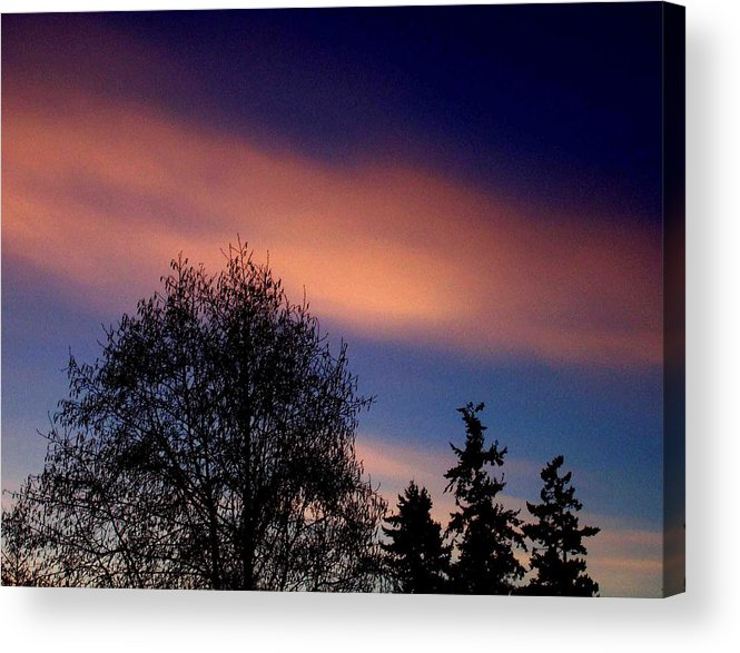 Morning Acrylic Print featuring the photograph Morning Flare by Kevin D Davis