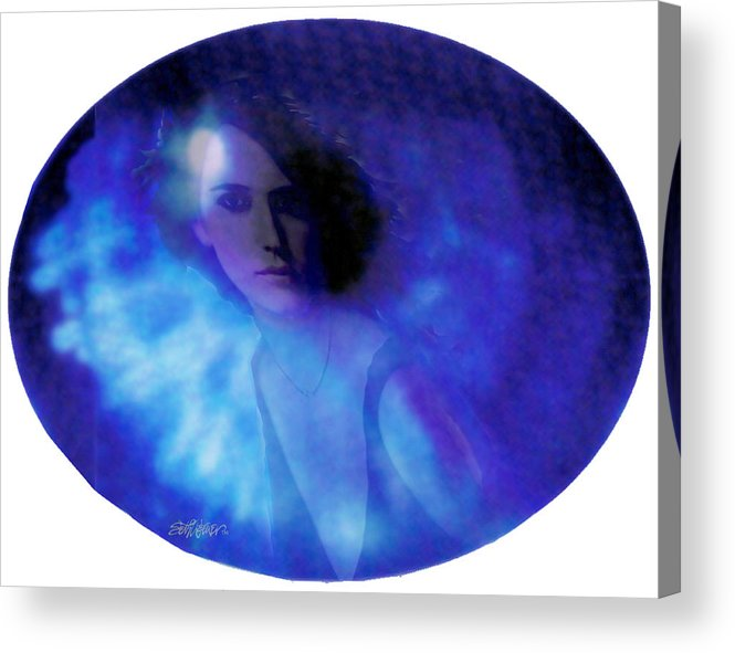 Abstract Acrylic Print featuring the photograph My Eye's Delight by Seth Weaver
