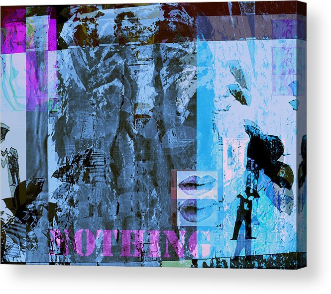 Plasticity Acrylic Print featuring the painting No Things - Nothing by Noredin Morgan