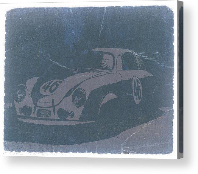 Porsche 356 Coupe Front Acrylic Print featuring the photograph Porsche 356 Coupe Front by Naxart Studio