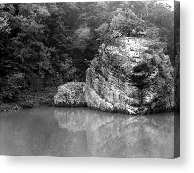Rock Acrylic Print featuring the photograph Rock by Curtis J Neeley Jr