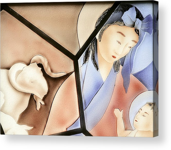 Family Acrylic Print featuring the photograph The Chinese Jesus by Christine Till