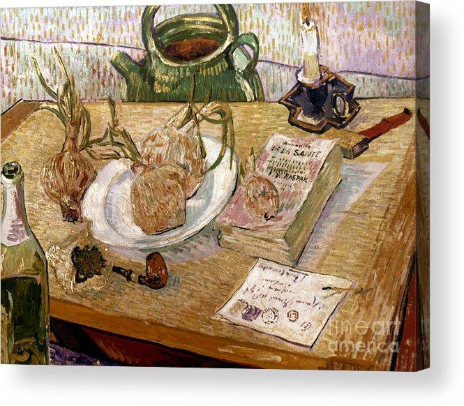 1889 Acrylic Print featuring the photograph Van Gogh: Still Life, 1889 by Granger