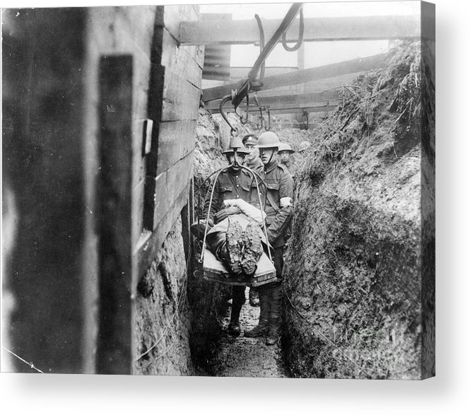 1910s Acrylic Print featuring the photograph World War I: France by Granger