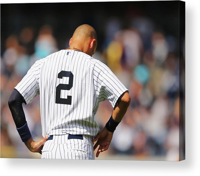 People Acrylic Print featuring the photograph Cleveland Indians V New York Yankees 1 by Al Bello