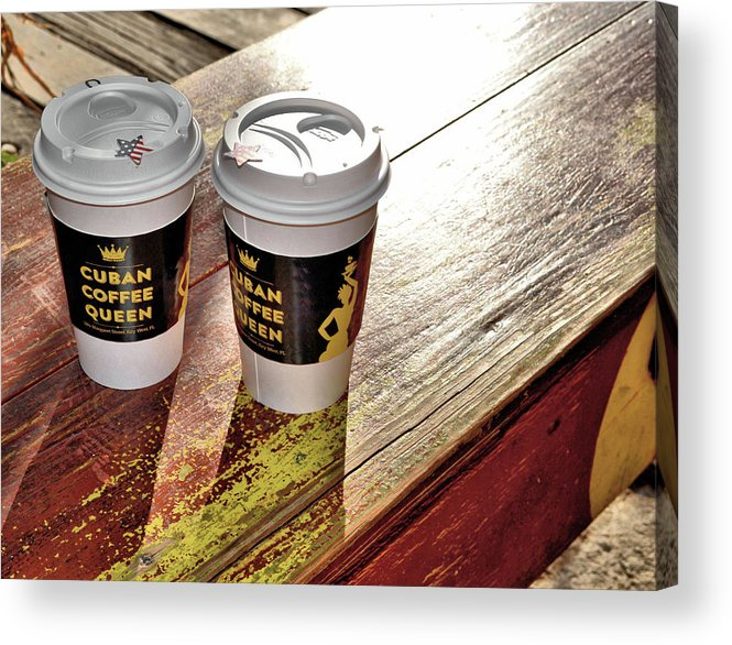Key Acrylic Print featuring the photograph Beauty In A Cup by JAMART Photography